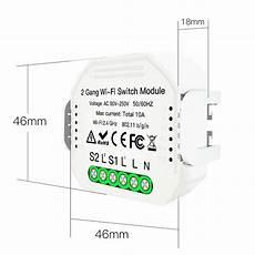 Moeshouse Ac90 250v Wifi Smart Light by Moeshouse Ms 104b Ac90 240v 2 2 Way Wifi Smart Light