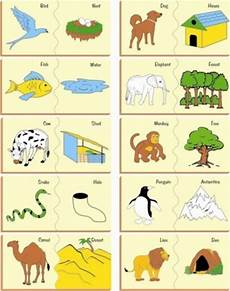 worksheets with animals and their food 14086 wooden painted puzzle animal their habitate kinder creative toys limited