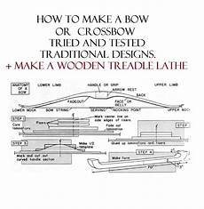 crossbow plans build a bow crossbow traditional archery build plans archery
