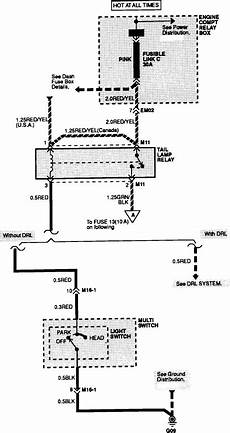 i need a wiring diagram for a 1992 hyundai excel tail lights brake lights turn signals at the