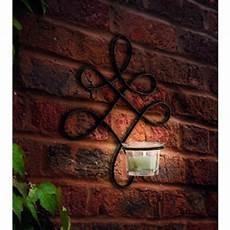 verona wall art sconce metal tealight candle holder by garden selections notonthehighstreet com