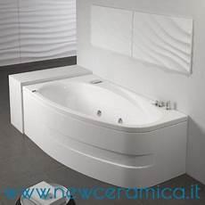 vasca idromassaggio grandform vasca rettangolare asimmetrica con idromassaggio
