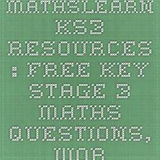 fraction worksheets key stage 2 3996 mathslearn ks3 resources free key stage 3 maths questions worksheets questions and