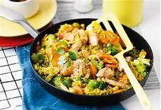 Curry Mit Reis - curry reis mit huhn und gem 252 se frisch gekocht