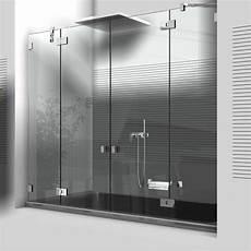 Badewannenaufsätze Zum Duschen - badewannenaufs 228 tze aus glas und hochwertigen duschbeschl 228