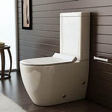 Design Stand Wc Mit Geberit Sp 252 Lgarnitur Keramik Toilette