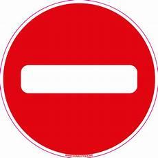 sens interdit panneau panneau sens interdit d0064