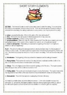 short story elements esl worksheet by vnstdn