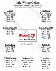 cb mic wiring diagram manual microphone wiring diagrams walcottcb com