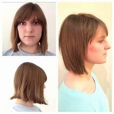 before and after bob haircut razor bob bumble and bumble my work in 2019 razored bob