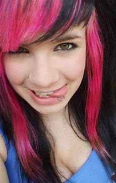 black and pink hairstyles black and pink hairstyles