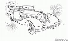 Malvorlagen Lkw Mercedes Coloring Page Antique Cars