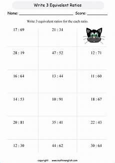 ratio word problems with decimals worksheets 7588 write 3 ratios printable grade 6 math worksheet