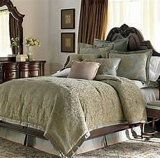 chris madden delano queen comforter teal blue jacquard