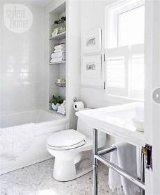 Small All White Bathroom Ideas by Bathroom Decor All White Bathroom Makeover Style At Home