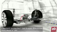 les 4 roues directrices