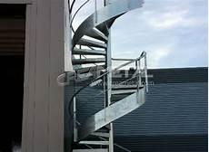escalier colimaçon acier galvanisé etude et fabrication escalier ext 233 rieur en acier galvanis 233
