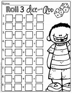 1st grade math worksheet adding 3 numbers 15 best images of addition 3 addends worksheet grade