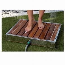 receveur piscine receveur ext 200 rieur jet pluie jardin piscine 70x55x9cm comparer les prix de receveur