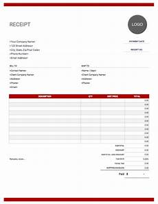 receipt template free to download from invoice simple