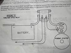 starter wiring install question ford muscle ford muscle cars tech