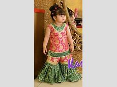 Image result for baby girl gharara   baby's frock