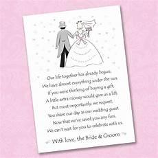 Asking Money For Wedding Gift
