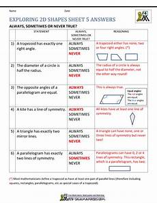 geometry review worksheets with answers 878 4th grade geometry