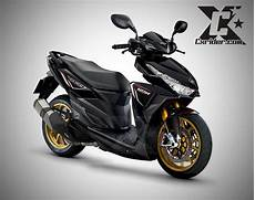Striping Vario 125 Modif by Konsep Modifikasi New Vario 150 Esp Vario 125 Esp