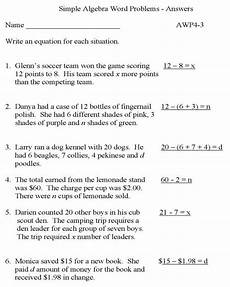 math word problems worksheets and answers 10974 practice math problems simple algebra with answers educative printable practice math