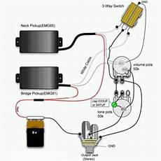 Emg 81 And 85 Wiring Diagram What Si Wrong