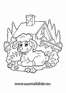 Malvorlagen Bauernhof Urlaub Ausmalbilder Schaf Auf Einer Weide Bauernhof Malvorlagen