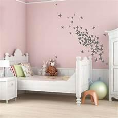 wandgestaltung farbe kinderzimmer mädchen altrosa wandfarbe verleiht dem ambiente z 228 rtlichkeit