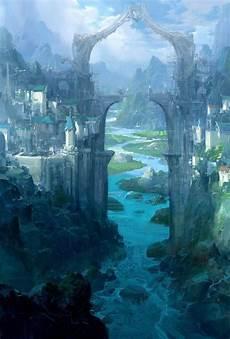 Malvorlagen Landschaften Gratis Epic Epische Fantasielandschaften Epic Landscapes