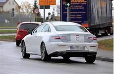 new 2020 mercedes e class coupe testing autocar