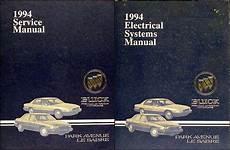 automotive repair manual 1993 buick park avenue auto manual 1994 buick park avenue ultra and le sabre repair shop manual set original