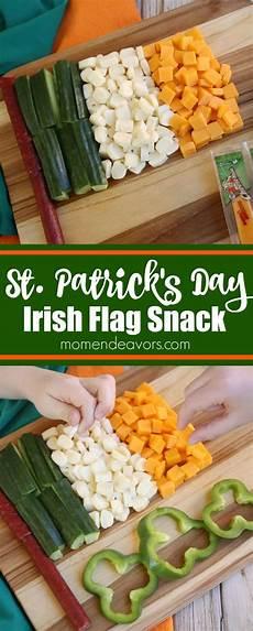 irish flag st s day snack idea