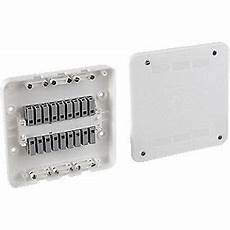 surewire sw6s mf 16a 6 way pre wired lighting spur junction box white junction boxes
