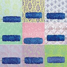 15cm diy wall decoration flower pattern art craft painting roller paint machine ebay
