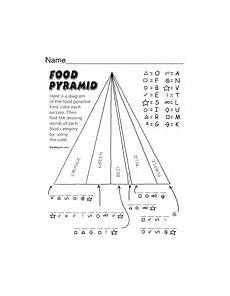 food pyramid worksheets edhelper com