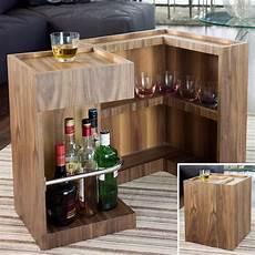 Mini Bar Side Table Walnut 163 249 Bares En Casa Peque 241 Os