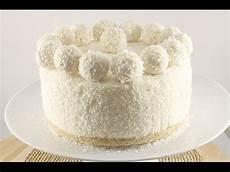 coconut cake raffaello without baking
