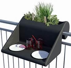 table pour petit balcon table d appoint balkonzept 224 suspendre pour balcons
