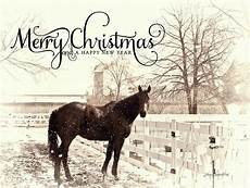 vintage merry christmas with photograph by joann copeland paul