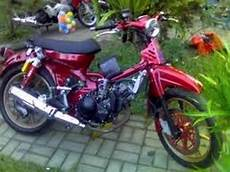 Modifikasi Motor Pitung by Modifikasi Motor Honda 70 Pitung Elegan Bahan Modifikasi