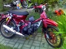 Modifikasi Pitung by Modifikasi Motor Honda 70 Pitung Elegan Bahan Modifikasi