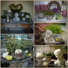Ideen Wohnen Garten Leben - herbstliche deko im garten wohnen und garten foto fall