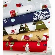 martha stewart flannel christmas sheet full queen ebay