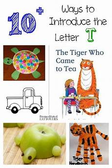 10 ways to introduce the letter t