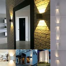 modern 7w 2led up down indoor outdoor wall light l